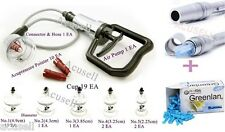Hansol Hijama Medical 19Cups+ 3-Pin Bleeding Pen+ 1Needle Box Wet Cupping   A1