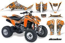 ATV Decal Graphic Kit Wrap For Suzuki LTZ400 Kawasaki KFX400 2003-2008 DEADEN O