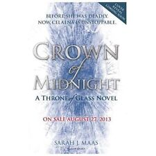 Throne of Glass: Crown of Midnight by Sarah J. Maas (2013, Hardcover)