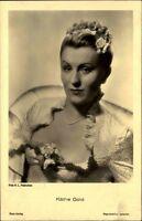 Käthe GOLD Schauspielerin Porträt-AK Kino Bühne Ross-Verlag ~1930 Nr. 3372/1