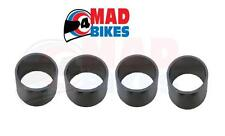 Honda VTR1000 SP1, SP2 d'échappement joint SEAL RING SET, 2 x silencieux, 2 x downpipes