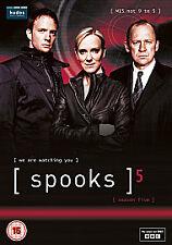 Spooks - Series 5 - Complete (DVD, 2011, 5-Disc Set, Box Set)