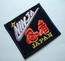 NINJA JAPANESE CHARACTER JAPAN SHURIKEN Embroidered Iron on Patch Free Shipping