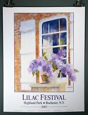 Lilac Festival Poster 2005 Rochester, NY  Highland Park