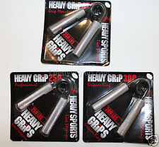 Heavy Grips Hand Grippers Metal Set 3 Pack 250-350lbs