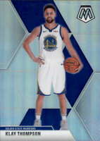 2019-20 Panini Mosaic Silver #80 KLAY THOMPSON  Warriors