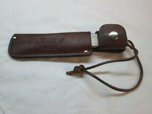 Vintage Schrade Old-Timer HoneSteel HS-1 w/ Lanyard & Sheath ~ EXC COND ~
