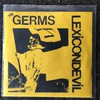 "The Germs - Lexicon Devil - 7"" Vinyl - PUNK ROCK - Darby, Weirdos , KBD"