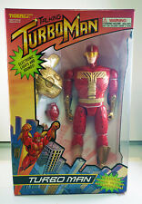 """1996 TALKING TURBOMAN 13.5"""" DELUXE IN BOX *AS SEEN IN 'JINGLE ALL THE WAY' MOVIE"""