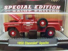 M2 MACHINES - 2012 SPECIAL EDITION (1 OF 492) - 1958 CHEVROLET APACHE 4X4 PICKUP