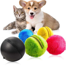 5Pcs/set Pet Magic Electric Roller Ball Toy Dog Cat Active Rolling Balls Toy