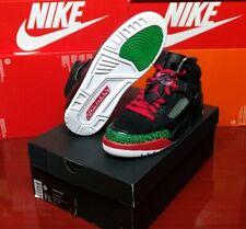 Air Jordan Spizike Black Red Green Men's 9 315371-026 Basketball Shoes