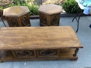 Vintage 60's coffee table set