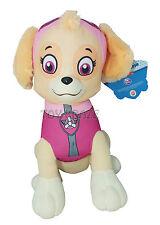 "PAW PATROL PLUSH! SKYE PINK SMALL DOG PUPPY COCKAPOO SOFT DOLLS 6.5-7"" NEW"