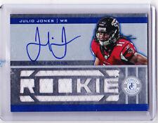 2011 Totally Certified JULIO JONES Blue #220 Jersey Autograph Rookie 238/399!