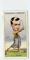 (Ga7418-407) Churchman, Prominent Golfers, #9 T.H.Cotton 1931 VG+