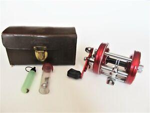 Vintage ABU Garcia 6000 AB.UFABRIFEN-SVANSTA Fishing Reel + Case, Oil & Parts