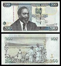 Kenia - Kenya  200 Shilingi  16-7-2010  Pick 49e   SC = UNC
