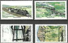 Transkei - Trains de chemin de fer et Paysages Lot menthe 1989 Mi. 230-233