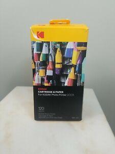 Kodak Dock Photo Printer Cartridge Refill (3) And (120) Photo Sheets