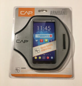 CAP Armband Smartphone Phone Holder Gray Sports Workout Training Protector NEW