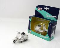 Modell Motorroller 1:18  Vespa 150 weiss 1956 Display Box   Maisto