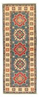 """Hand-knotted Afghan Carpet 2'0"""" x 5'10"""" Finest Gazni Traditional Wool Rug"""