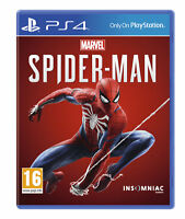 Marvel's Spider-Man spiderman (PS4) NEW | SEALED