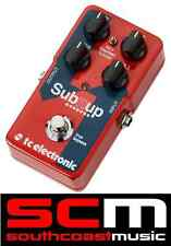 TC Electronic Sub N Up Polyphonic Octaver Pedal Toneprint TrueBypass Guitar FX