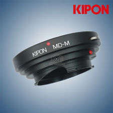 New Kipon Adapter for Minolta MD Lens to Rangefinder Liveview Leica M Camera
