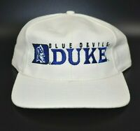 Duke Blue Devils NCAA Vintage 90's Twins Enterprise Strapback Cap Hat - NWT