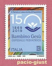 Italia 2019  OSPEDALE PEDIATRICO BAMBINO GESU'  Francobollo Singolo