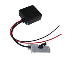 Bluetooth RNS-E Navigation Aux Input Adaptor 32-Pin For Audi A3 A4 A6 A8 Filter