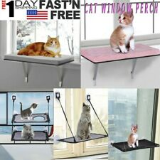 New listing Suction cup style cat hammock window cat drying platform cushion pet bed suspens