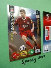 Champions League 09 10 Super Strikes Liverpool Gerrard Champion Panini Adrenalyn