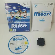 Wii Sports Resort + Genuine original Nintendo Black motion plus Dongle