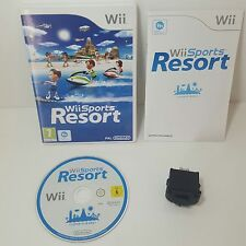 Wii SPORTS RESORT + NERO ORIGINALE PER Nintendo Motion Plus Dongle