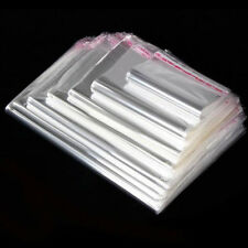Hot Clear Cellophane Cello Bags Plastic OPP Card Display Self Adhesive Peel Seal
