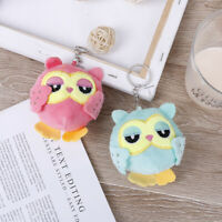 9Cm key chain toys plush stuffed animal owl toy small pendant dolls party ATAU