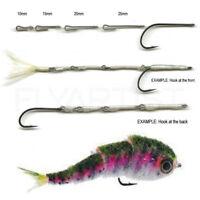 FISH-SKULL ARTICULATED FISH-SPINE - Flymen Fly Tying Shanks 10mm 15mm 20mm 25mm