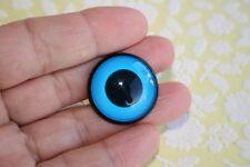 Ojos de seguridad azules 22 mm para osos de peluche amigurumi juguetes animales