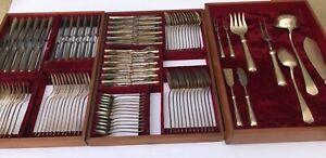 WMF Jugendstil  Model 37 Art Nouveau Cutlery complete set for 12