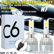 New listing 2Pcs H7 High Low Beam Led Headlight Bulb Lamp 100W 20000Lm 6000K Hid Replacement