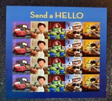 Disney Pixar USPS Scott #4553-4557  Send a Hello forever sheet MNH 2011