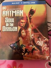 batman soul of the dragon bluray brand new sealed