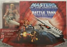 Masters Of The Universe 200X He-Man With Iron Maltese Cross Battle Tank Vehicle