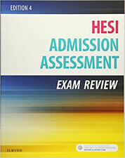 Admission Assessment Exam Review 4th Edition by HESI (DlGlTAL - P.Ð.Ƒ)
