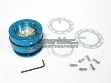 NRG Steering Wheel Quick Release Kit Generation 2.0 Blue Body w/ Blue Ring NEW