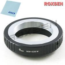 Roxsen Leica M39 LTM mount lens To Canon EOS M M2 EF-M mount Camera Adapter