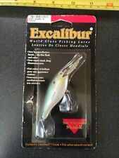 New Old Stock Vintage Excalibur Rebel Shad-R Fishing Lure Lot #1